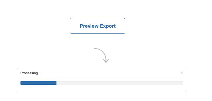 Preview export outlook calendar