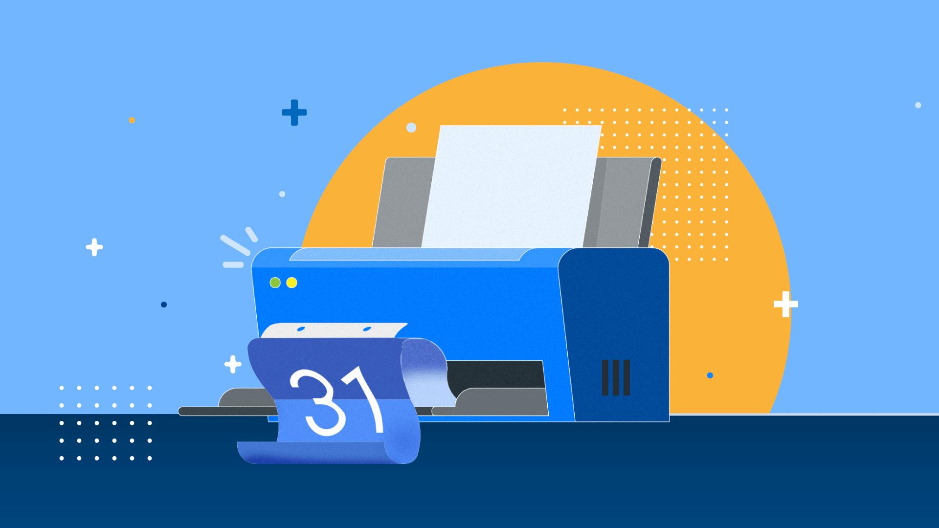 How to print Google Calendar