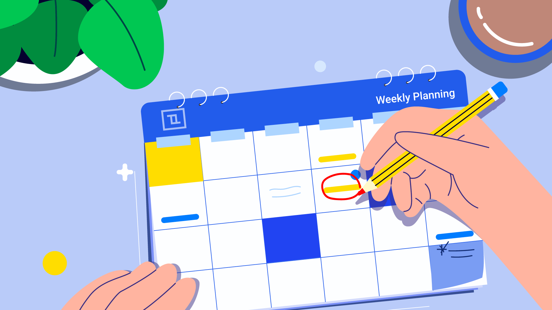 Why we need an ideal week plan to keep stress free
