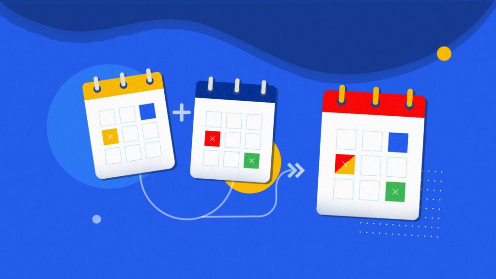 How to merge google calendar