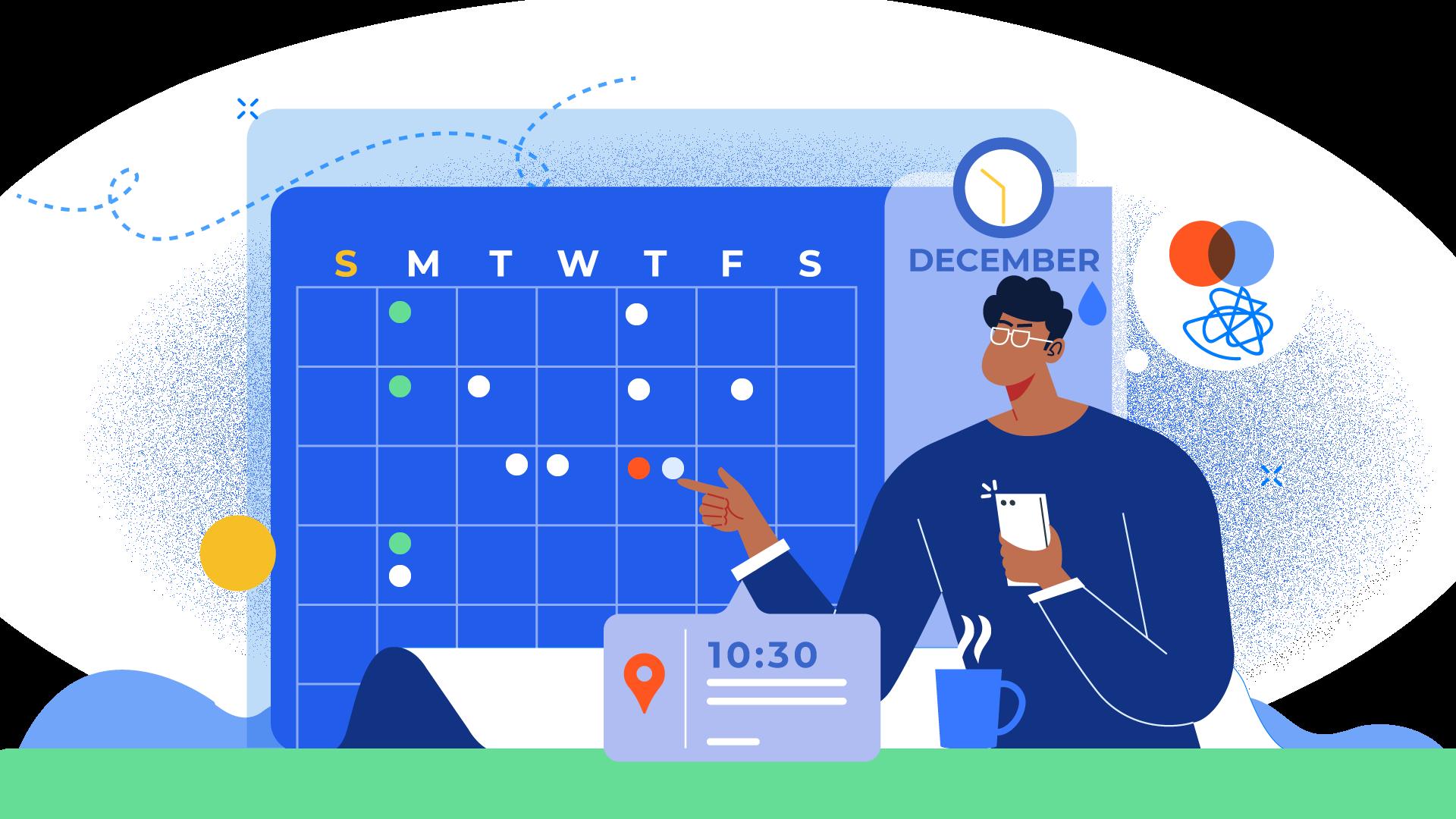 Effective calendar management tips