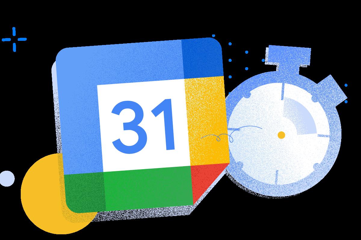 Google calendar time track