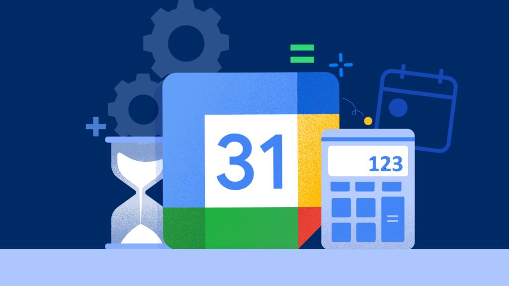 google calendar calculator