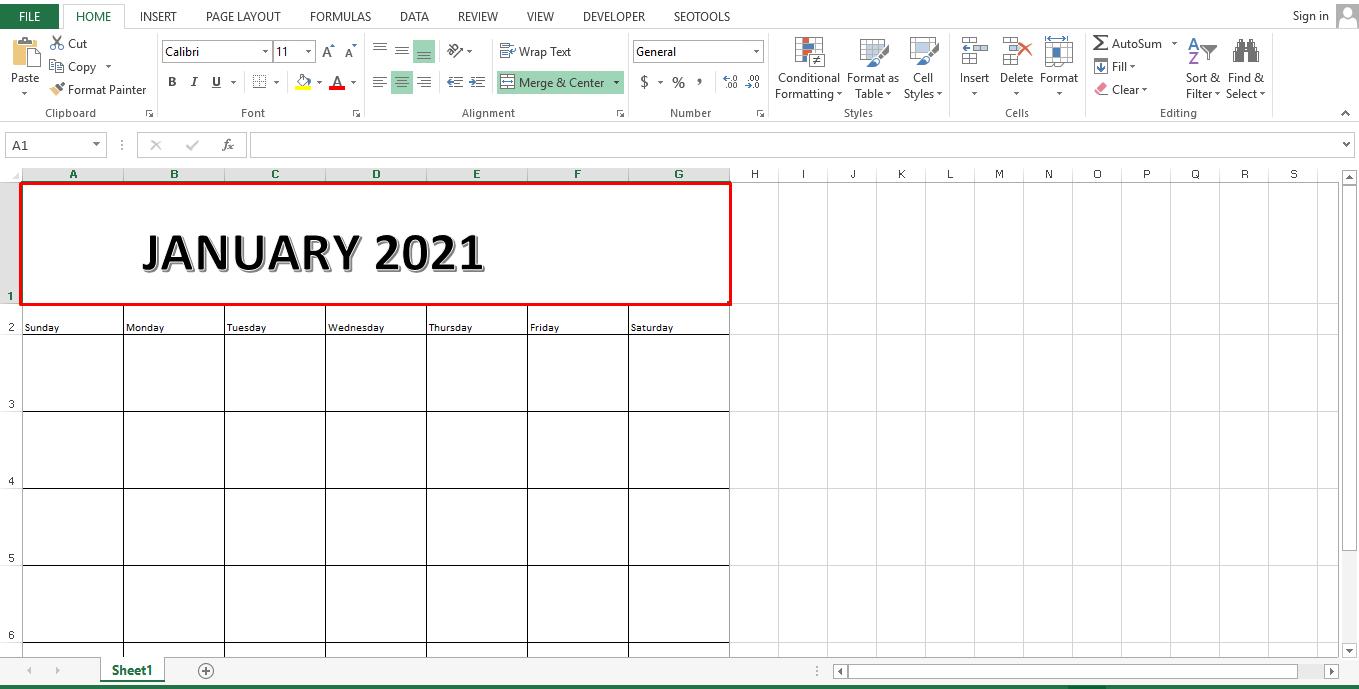 January 2021