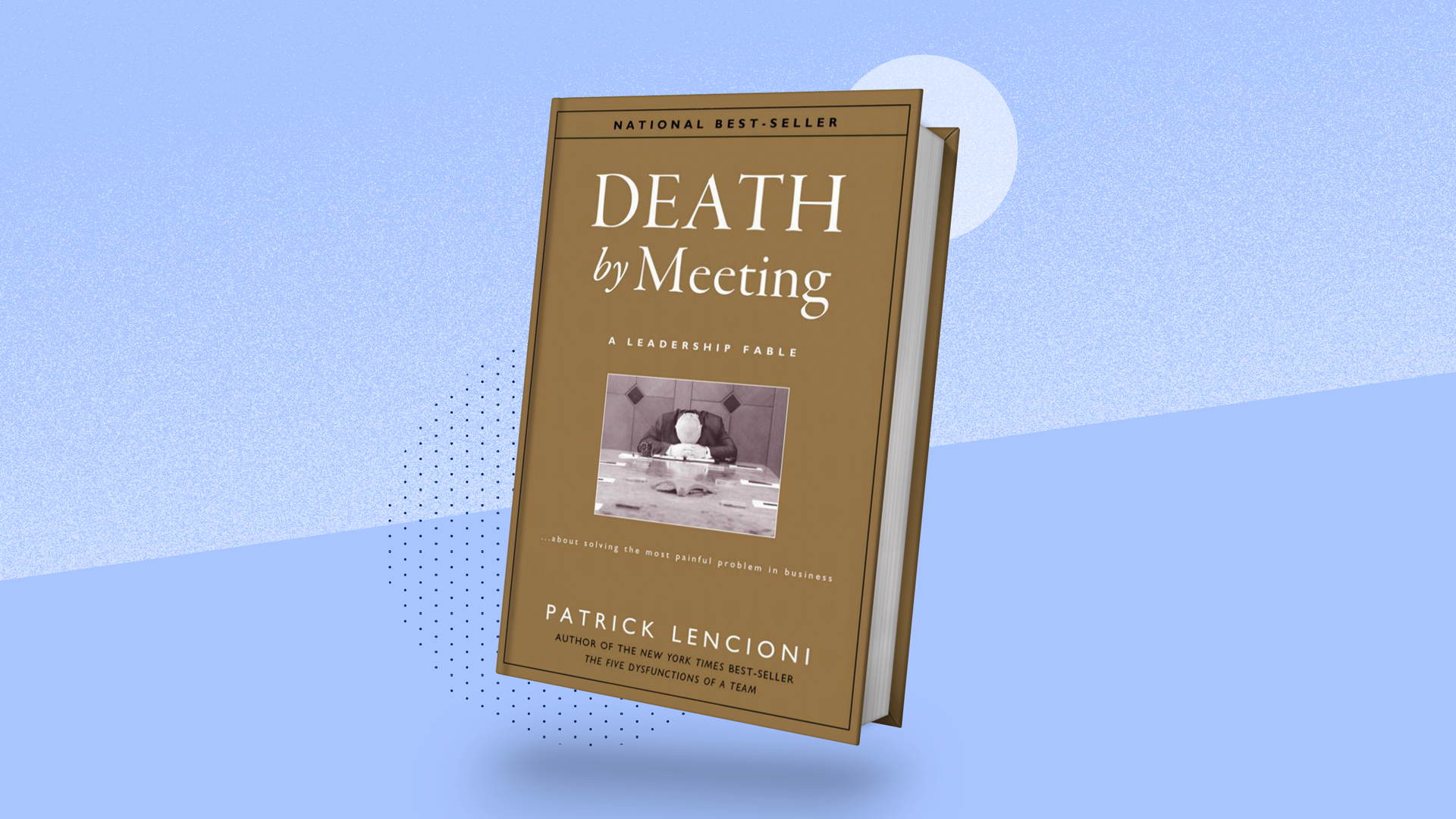 Book review blog - Death By Meeting