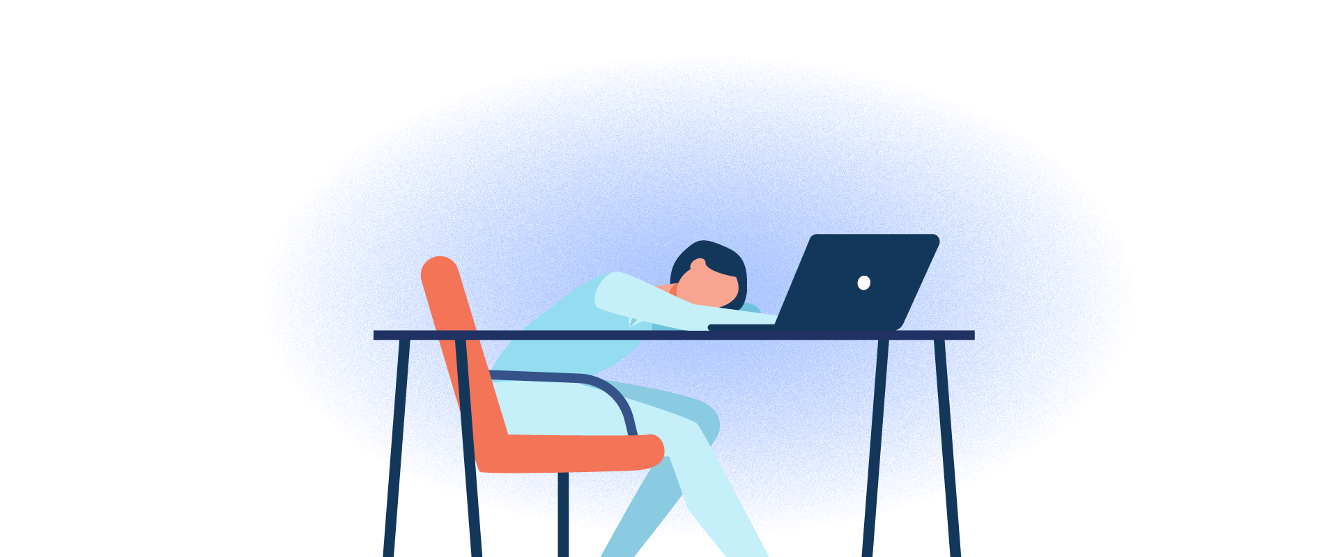 Okay, so you don't work in one of the Fortune 500 companies. Maybe your office is not exactly plush. Or, it could be that you aren't particularly fond of your job. But you have to face reality and it is what it is.Don't wallow in self-pity or moan about your job that would result in wasted time. Think about the work related perks or any positive side. Write these down and put them in front of you.