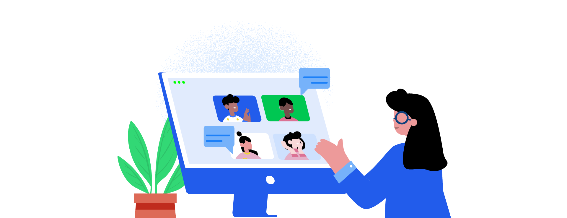 Keep in touch with your colleagues while working from home. By keeping them in the loop of project progress and possible deviations, you can get them to have your back when in need. Share your work plan with them so that everyone is on the same page. You can let go of unnecessary worries when you have people to count on.