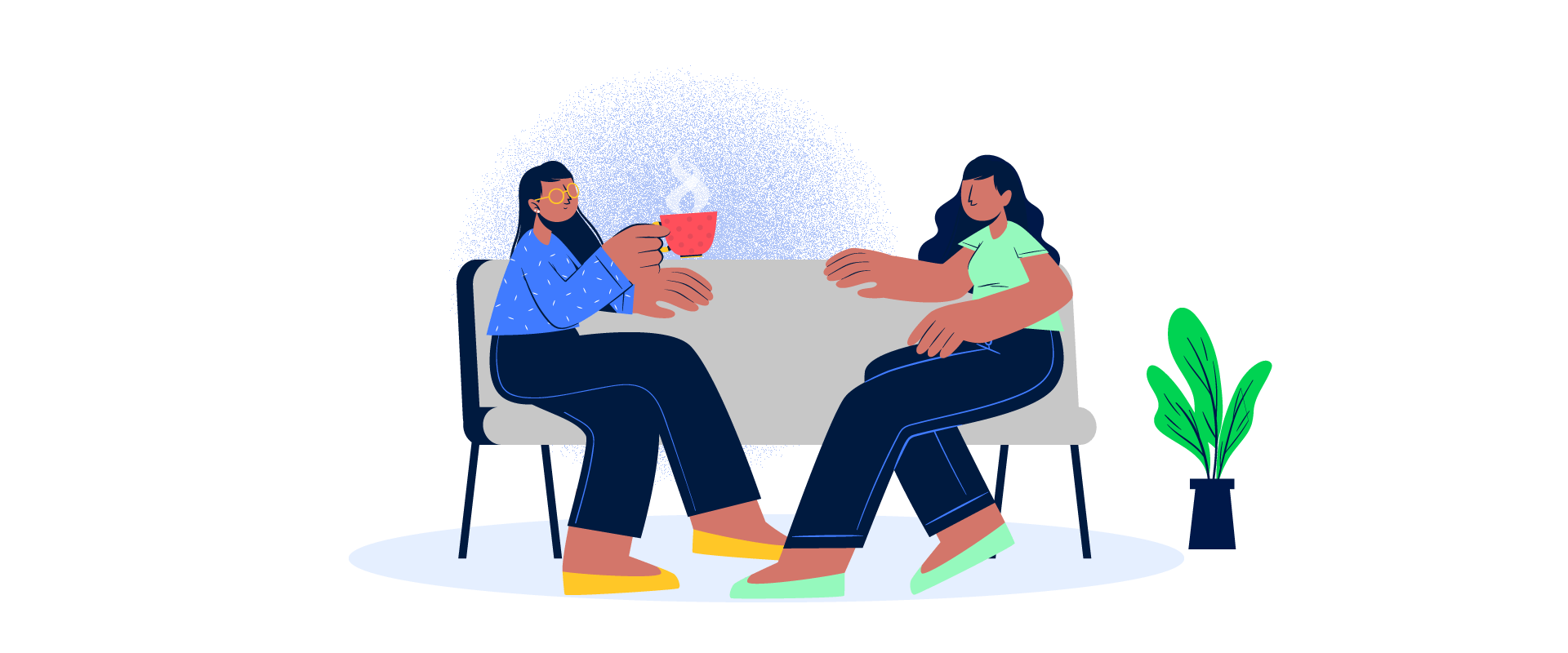 If you feel overwhelmed at work, reach out and ask for help. Your manager can help you by getting you in touch with one or more of the right resources. Use the office grapevine and connect with counselors or other teammates who can help you out of your stress.