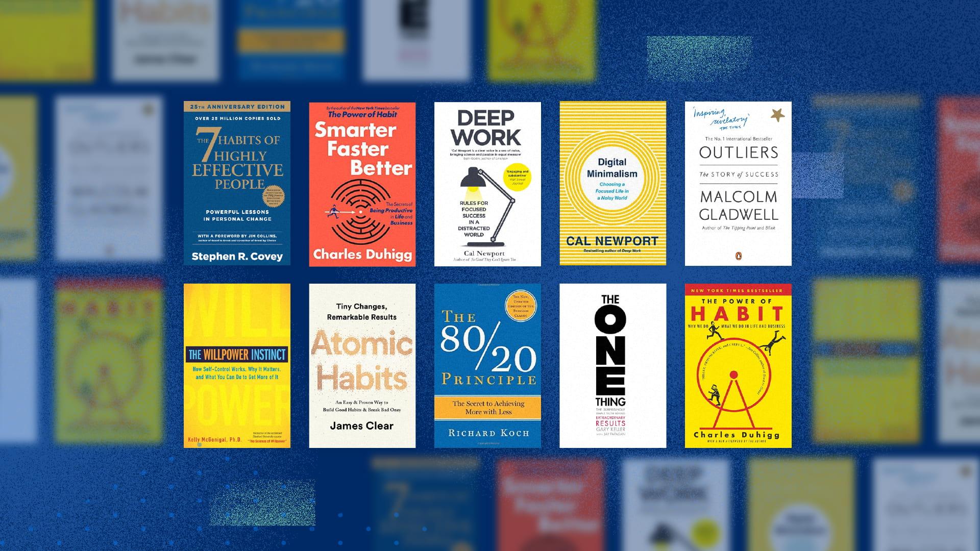 Productivity Management Books