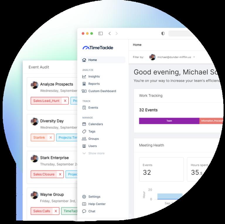 analyze and optimize your calendar data