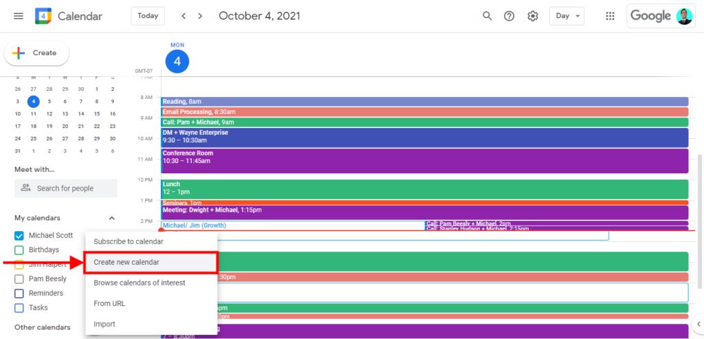 how to merge multiple google calendar, how to create a google calendar